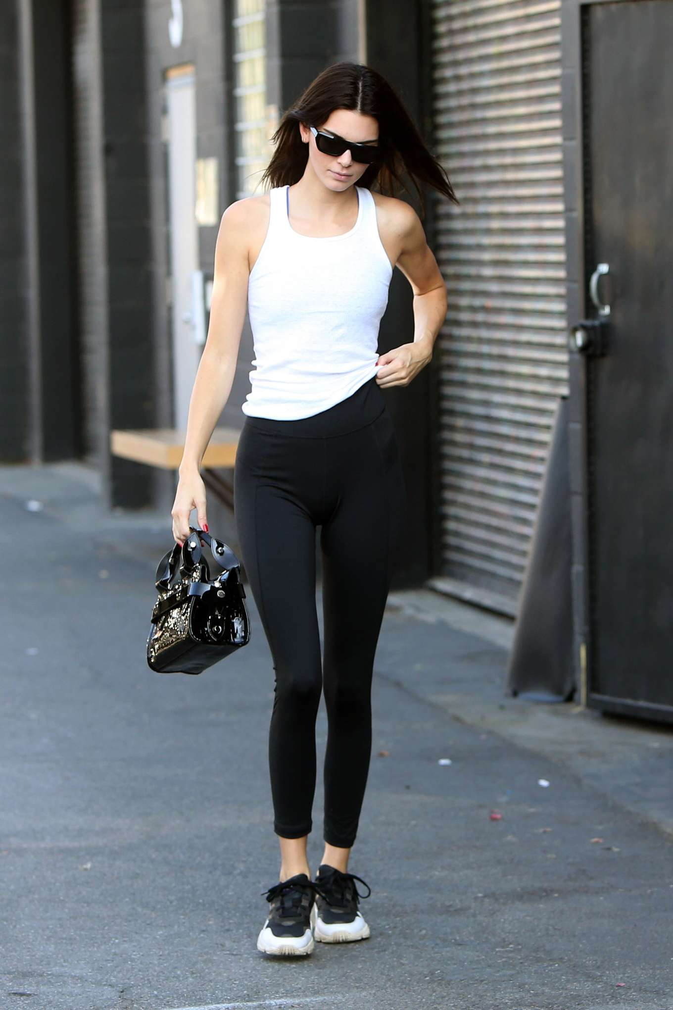 Kendall Jenner - Leaves a meeting in Los Angeles