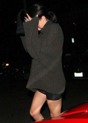 Kendall Jenner - Leaves Delilah Bar in West Hollywood