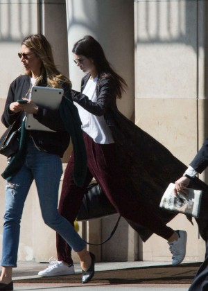 Kendall Jenner - Leaves George V Hotel in Paris