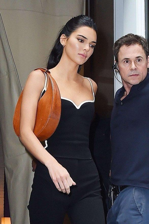Kendall Jenner - leaves Mercer Hotel in NY