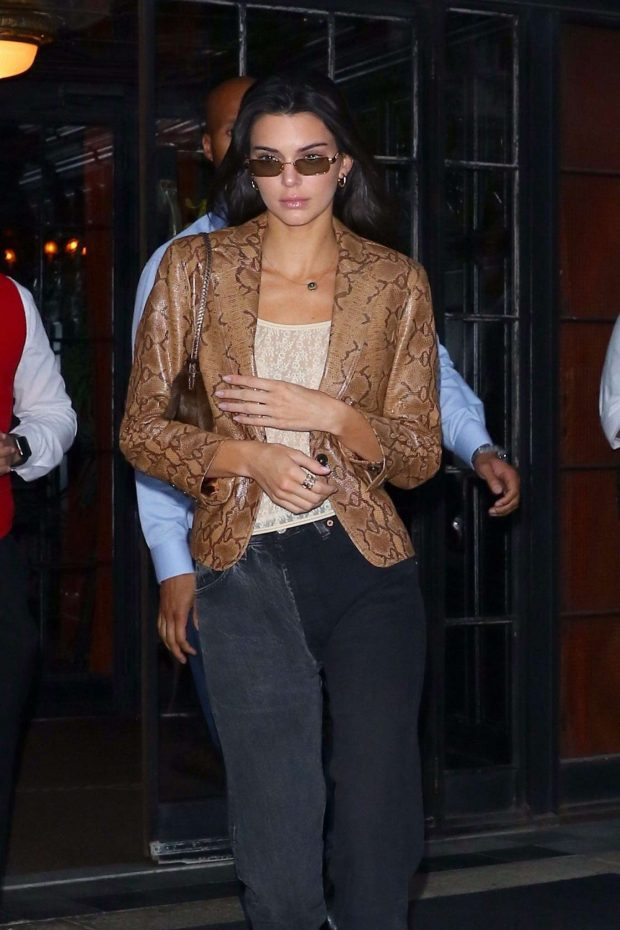 Kendall Jenner: Leaves The Bowery Hotel in New York -03