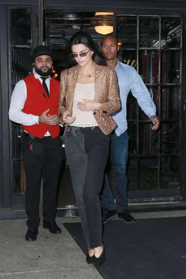 Kendall Jenner: Leaves The Bowery Hotel in New York -04