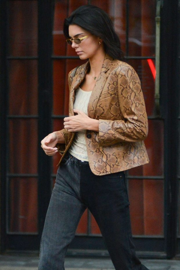 Kendall Jenner - Leaves The Bowery Hotel in New York