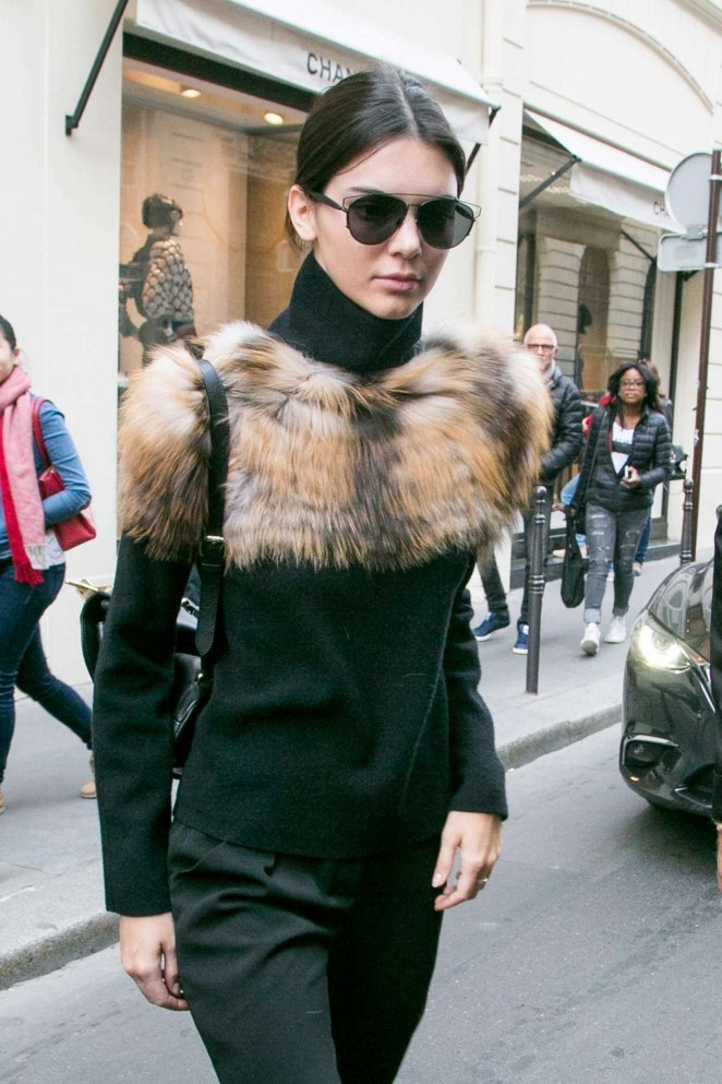 Kendall Jenner – Leaves The 'Chanel' Cambon Building in Paris