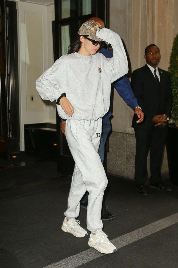 Kendall Jenner - Leaves the Mark Hotel in New York