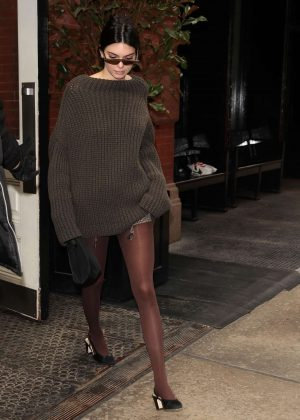 Kendall Jenner - Leaves the Mercer Hotel in NYC