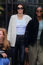 Kendall Jenner - Leaves Zinque in West Hollywood