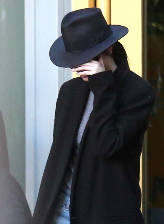 Kendall Jenner - Leaving a building in Los Angeles