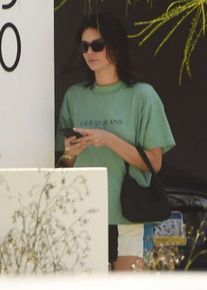 Kendall Jenner - Leaving a friends house in Los Angeles