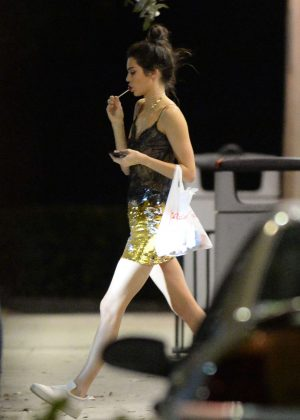 Kendall Jenner - Leaving a nightclub in Miami