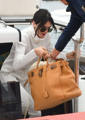 Kendall Jenner Leaving Eden Roc Hotel in Antibes