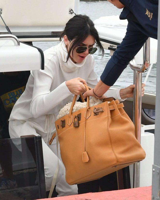 Kendall Jenner Leaving Eden Roc Hotel in Antibes
