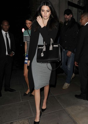 Kendall Jenner - Leaving her hotel in London