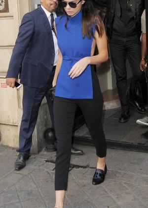 Kendall Jenner Hot in Paris -01