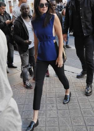 Kendall Jenner Hot in Paris -02
