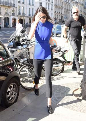 Kendall Jenner Hot in Paris -03