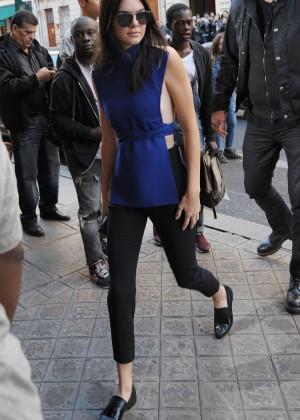 Kendall Jenner Hot in Paris -05