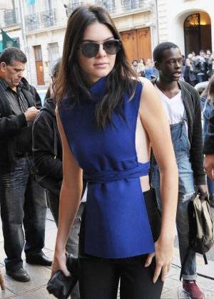Kendall Jenner Hot in Paris -07