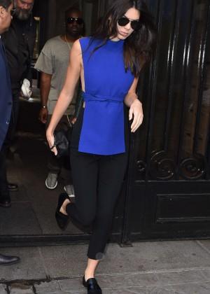 Kendall Jenner Hot in Paris -08