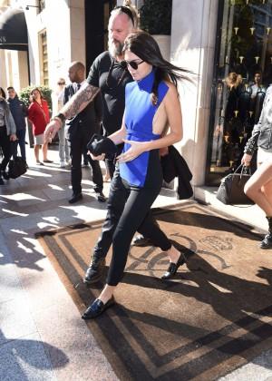 Kendall Jenner Hot in Paris -09