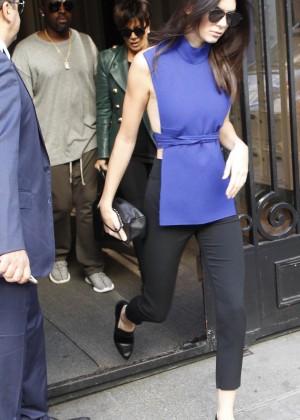 Kendall Jenner Hot in Paris -13