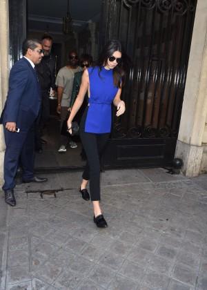 Kendall Jenner Hot in Paris -20