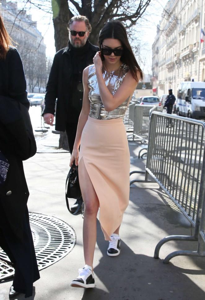 Kendall Jenner in Tight Skirt -07