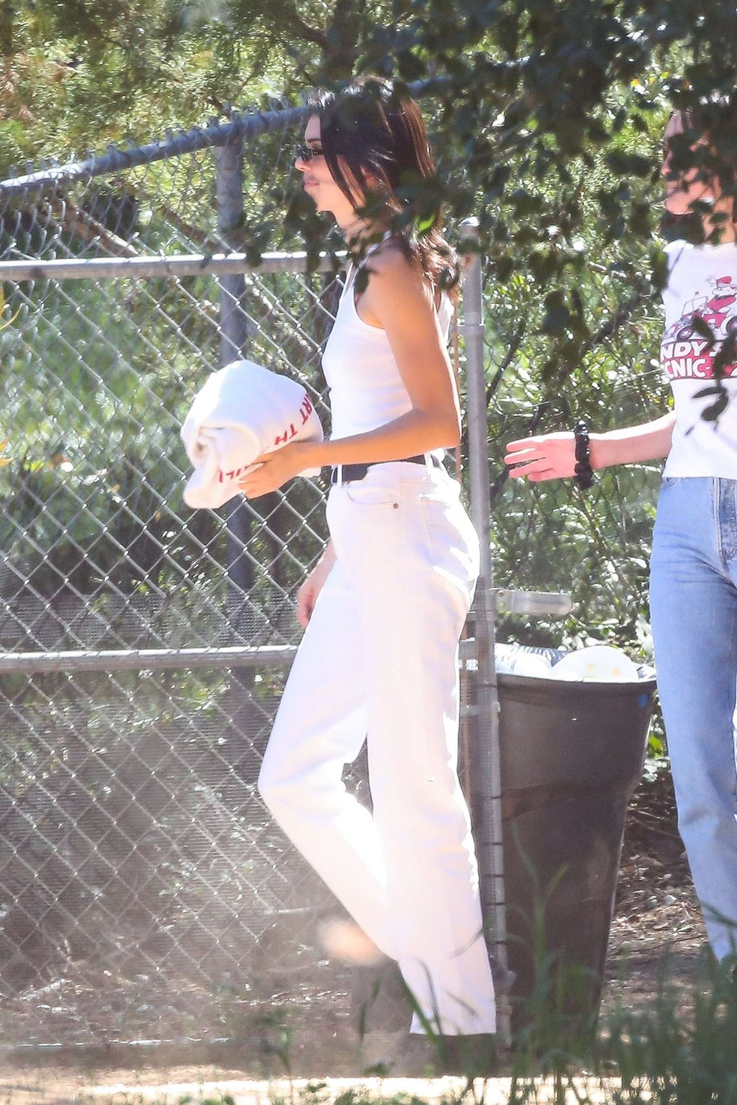 Kendall Jenner 2019 : Kendall Jenner: Leaving Kanye Wests church service -02