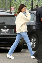 Kendall Jenner - Leaving Kanye West's Sunday Service in Inglewood