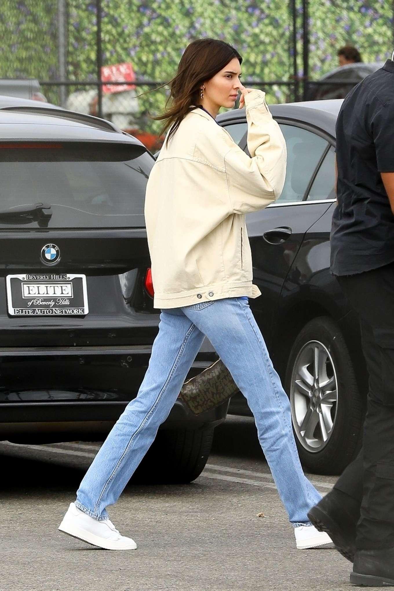 Kendall Jenner - Leaving Kanye West's Sunday Service in Inglewood