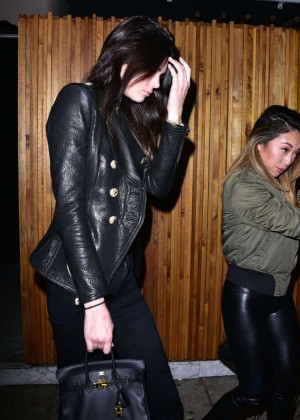 Kendall Jenner - Leaving Nice Guy in West Hollywood