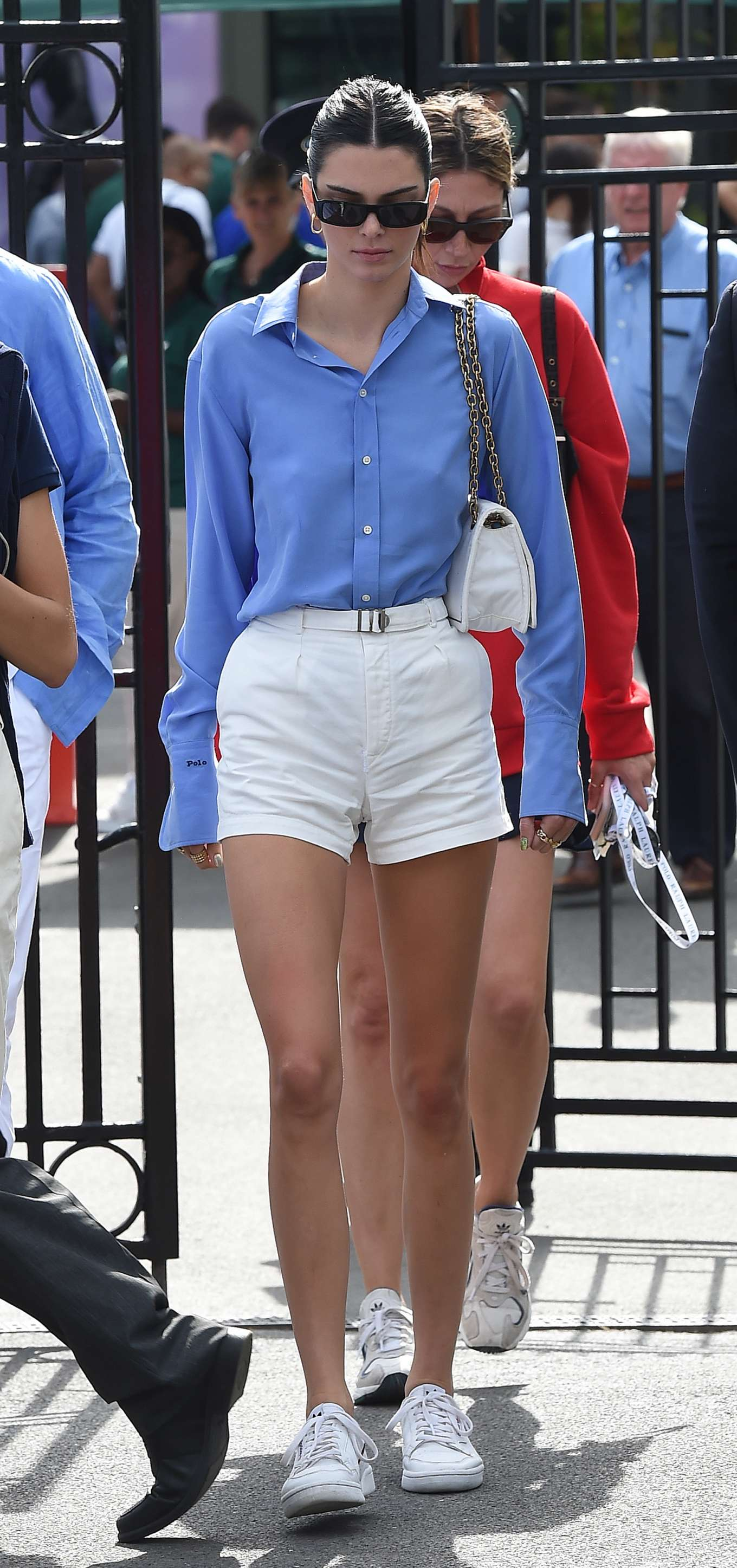 Kendall Jenner 2019 : Kendall Jenner – Leaving the 2019 Wimbledon Tennis Championships-03