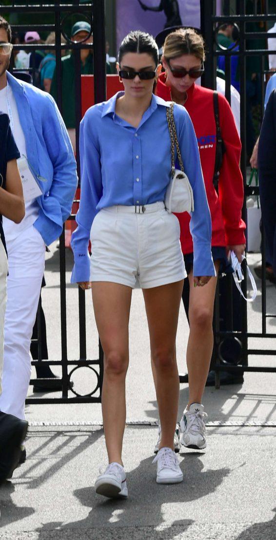 Kendall Jenner 2019 : Kendall Jenner – Leaving the 2019 Wimbledon Tennis Championships-07