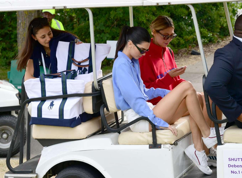 Kendall Jenner 2019 : Kendall Jenner – Leaving the 2019 Wimbledon Tennis Championships-12