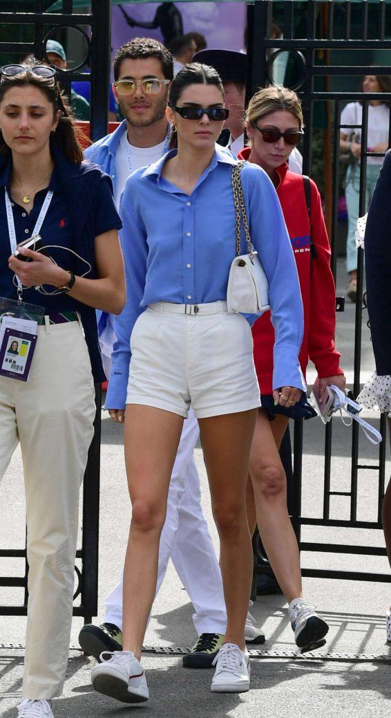 Kendall Jenner 2019 : Kendall Jenner – Leaving the 2019 Wimbledon Tennis Championships-13