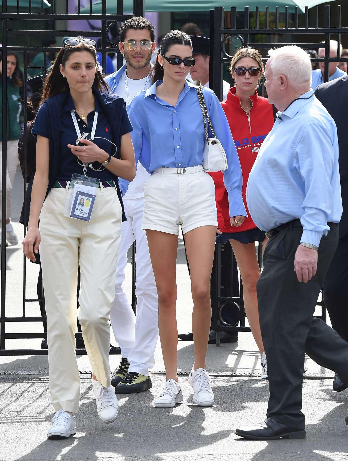Kendall Jenner – Leaving the 2019 Wimbledon Tennis Championships-18
