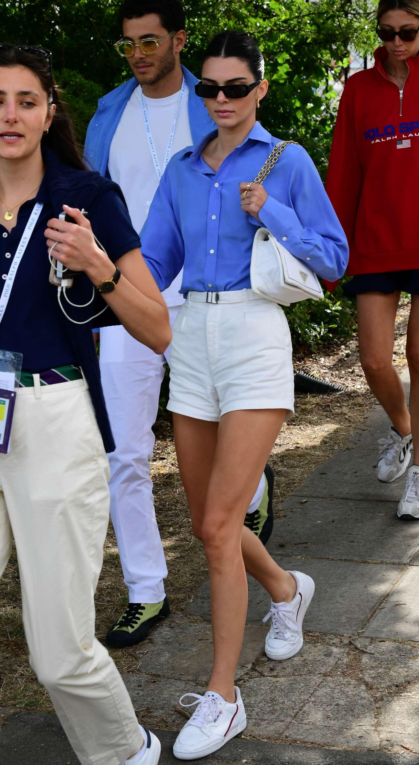 Kendall Jenner 2019 : Kendall Jenner – Leaving the 2019 Wimbledon Tennis Championships-20