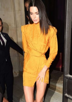Kendall Jenner - Leaving the Chaos SixtyNine x L'Oscar Event in London