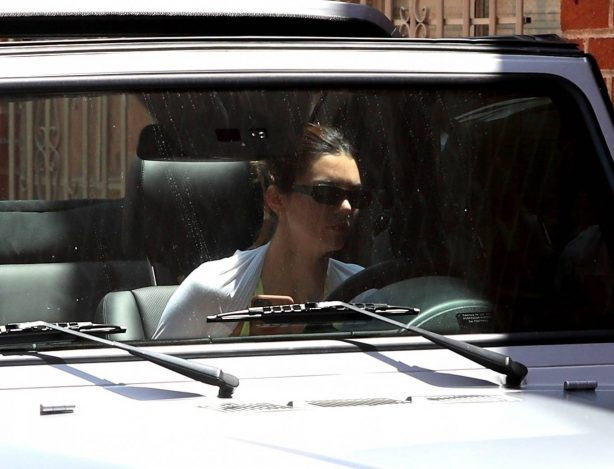 Kendall Jenner - Leaving the gym in Beverly Hills