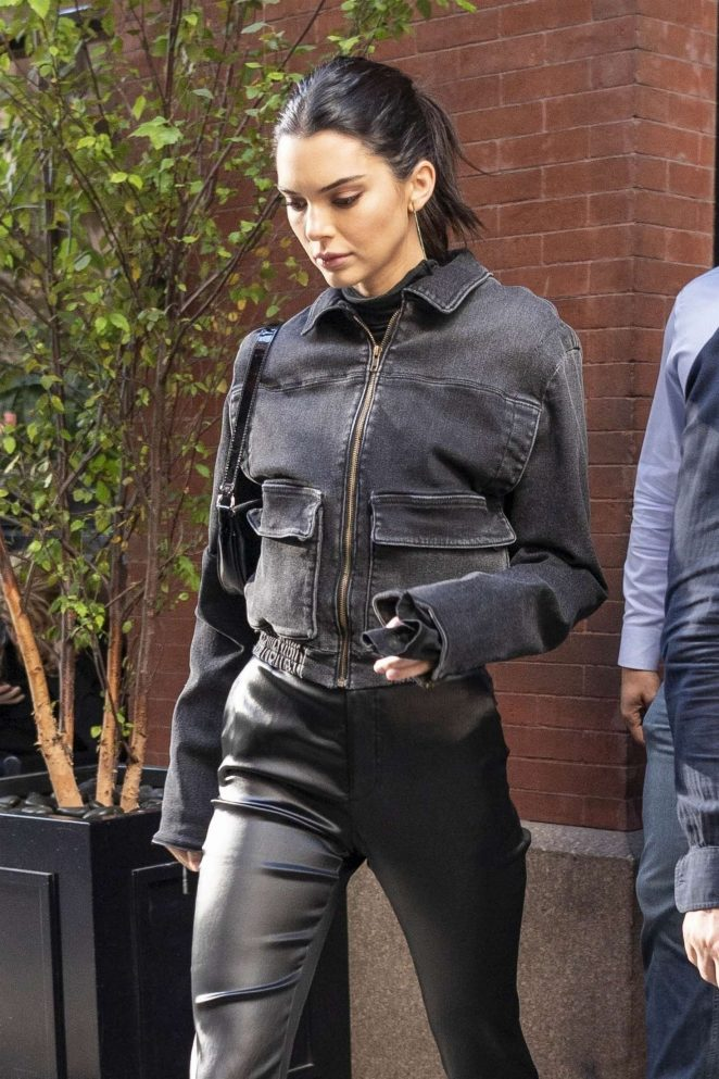 Kendall Jenner - Leaving the Mercer Hotel in New York City