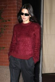 Kendall Jenner - Leaving the Mercer Hotel in New York