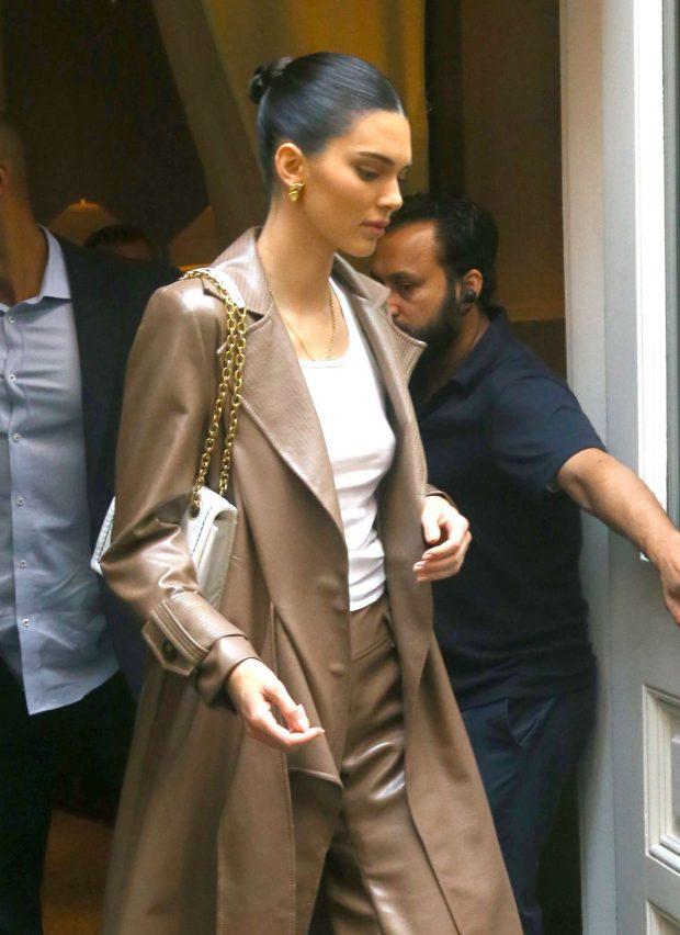 Kendall Jenner - Leaving the Mercer hotel in New York