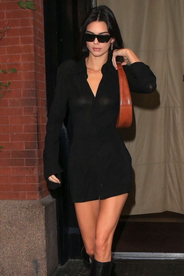 Kendall Jenner - leaving the Mercer Hotel in NY