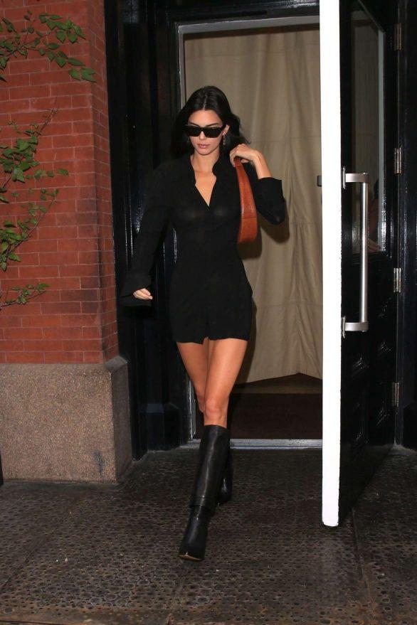 Kendall Jenner 2019 : Kendall Jenner – leaving the Mercer Hotel in NY-08