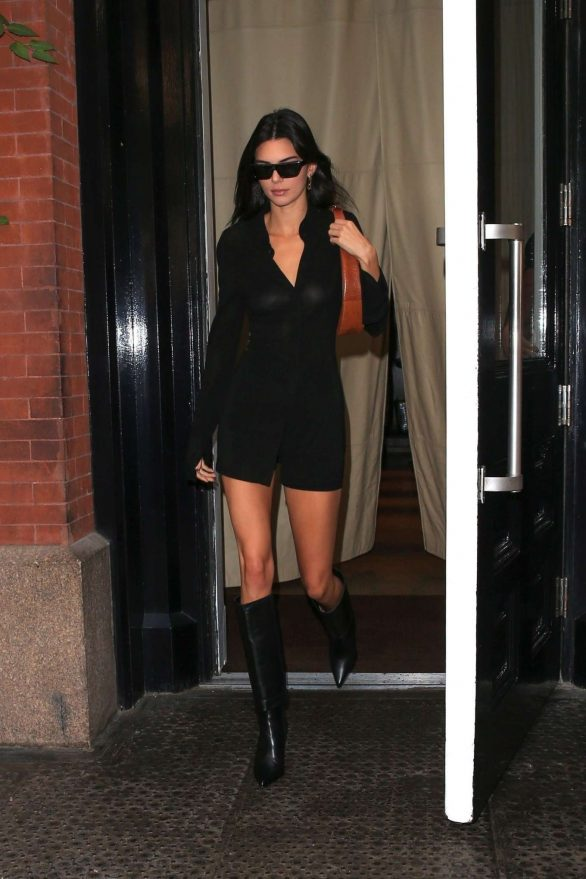 Kendall Jenner 2019 : Kendall Jenner – leaving the Mercer Hotel in NY-11