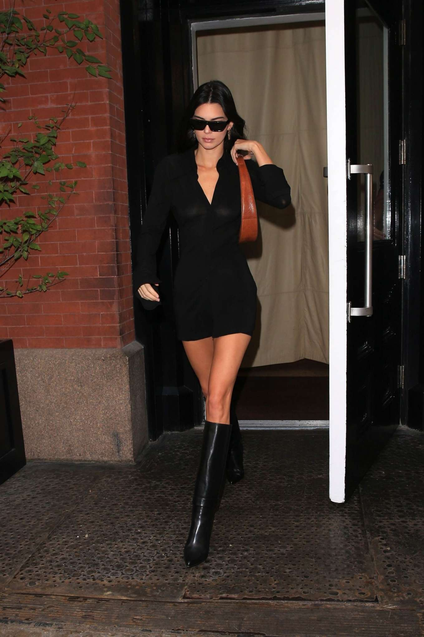 Kendall Jenner 2019 : Kendall Jenner – leaving the Mercer Hotel in NY-13