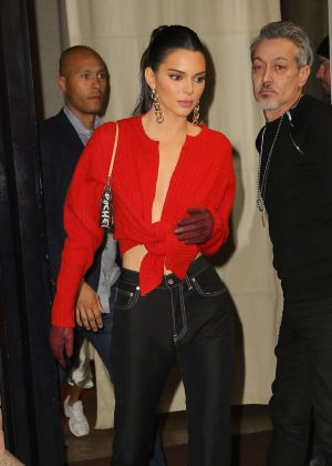 Kendall Jenner - Leaving the Mercer Hotel in NYC