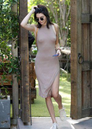 Kendall Jenner: Leaving The Villa Restaurant -09