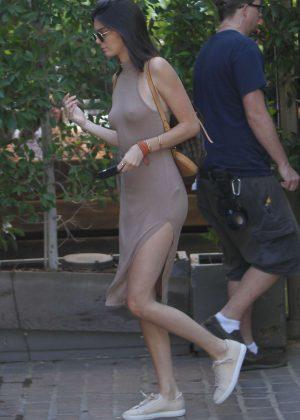 Kendall Jenner: Leaving The Villa Restaurant -13