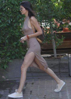 Kendall Jenner: Leaving The Villa Restaurant -23
